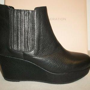 BCBG Size 5.5 M KAROL Black New Ankle Boots
